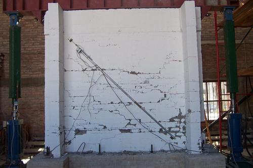Muro suelo-cemento