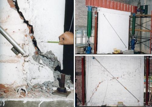 Muro de mampostería encadenada